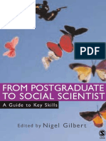 Gilbert - From Postgraduate to Social Scientist Project Management - 2006.pdf