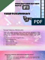 PP TEKNIK PENGOLAHAN AUDIO DAN VIDEO 4