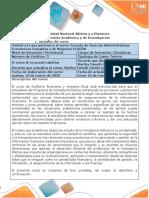 Syllabus del curso Auditoría Financiera y Revisoría Fiscal