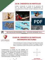 Clase 01 Cinemática de particulas Mov Rectangular.pptx