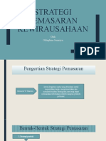 strategi pemasaran kewirausahaan