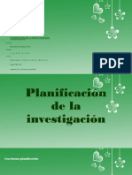 planeacion dentro de la investigacion