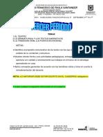 TRABAJO HABILIDADES COM  501 JT  EL TEATRO