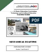 Industrial Arts - mechanical drafting -