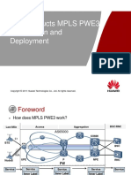 9)  ATN Products MPLS PWE3 Introduction and Deployment