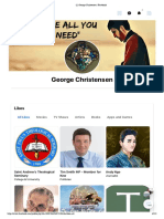 Facebook Pages liked by Facebook account George Christensen at 07/09/2020