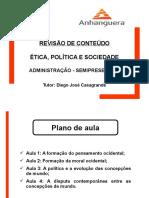 Revisão - Ética, Política e Sociedade