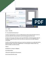 Free PDF to Word Converter 5.1 Document