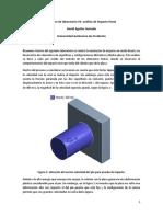 Informe de laboratorio de impacto