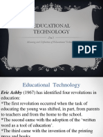 Meaning and Definition of Educational Technology.pdf
