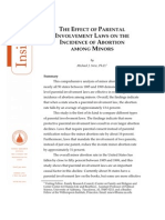 The Effect of Parental Involvement Laws