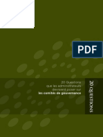 Anderson on 20Q for Governance Committees (en Francais) - CICA (Jul 2010)