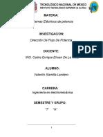 Direccion de Flujo de Potencia (Sistemas electricos de potencia) VAL