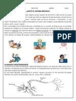 CIENCIA Y TEC. 6 PRAC. N° 08,09 SISTEMA NERVIOSO