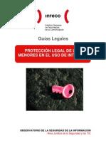 Guía para la protección legal de los menores en el uso de Internet