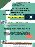 TECNICAS E INSTRUMENTOS ISPPC - SEMANA 7.pdf