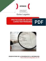 Guía legal sobre Protección de Datos de Carácter Personal