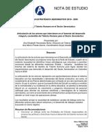 NOTA DE ESTUDIO__Desarrollo del Talento Humano en el Sector aeronautico colombiano