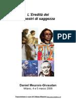 Daniel-Meurois-Givaudan - L_'Eredità dei Maestri di Saggezza