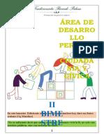 Clase N° 01 DPCC - 2° de Secundaria - II Bimestre