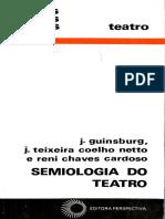 Semiologia do Teatro by J. Guinsburg Teixeira Coelho Netto Reni Chaves Cardoso (z-lib.org)