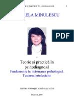 Mihaela Minulescu Teorie si practica in psihodiagnoza. Testarea intelectului