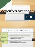 Anticipo proveedores FLUJO PARTE 1