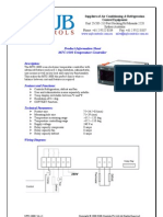 MTC-3000 Refrigeration Temperature Controller