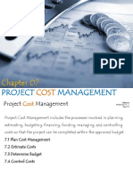 Chapter 07 - Project Cost Management