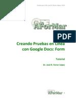 Tutorial Prueba con Google Docs AForMAR