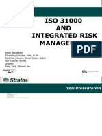 ISO 31000 and Integrated Risk Management