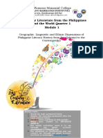 Module 1- 21st Century Literature from the Philippines and the World Quarter 1.docx