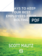 12 Ways to Keep Your Best Employees From Bolting