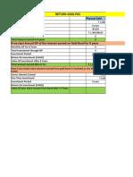 Return Analysis of gold bond (1)