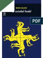 Bloch Marc - La Sociedad Feudal