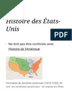 Histoire des États-Unis — Wikipédia