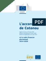 Accord de Cotonou