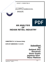 Retail industry_ Final report_Group 4