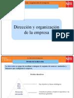 TEMA 14-Dirección y Organización de La Empresa