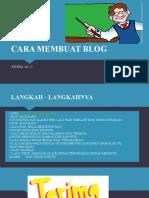 Cara Membuat Blog_Rendra