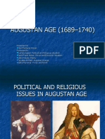AUGUSTAN AGE (1689–1740) PPT