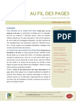 PANORAMA PRESSE MARS 2018 Au Fil Des Pages Huiles Et Olives Du Midi de La France