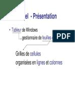 Excel Presentation