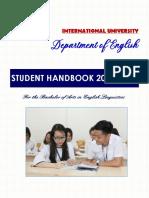 BAEL Student Handbook 2019 (O) for K19+