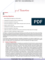 CBSE Class 11 Accounting-Recording of Transactions