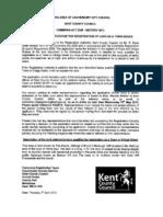 VGA614 Notice of Application