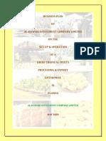 AL-DOWSRI INVESTMENT CO LTD - PROCESSED FRUITS BUSINESS PLAN_03.06.2020.PDF