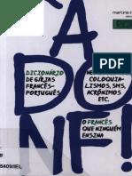Agnes Aubertot, A Donf Dicionario de Girias, Neologismos, Coloquialismos, Frances-portugues