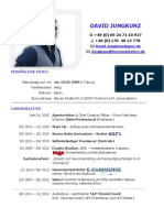 David Jungkunz CV Kurze Version - Stand Aug 2020