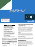 Honda HRV-MANUAL1